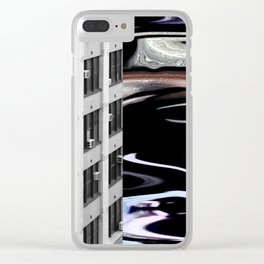 """City Winds"" Clear iPhone Case"