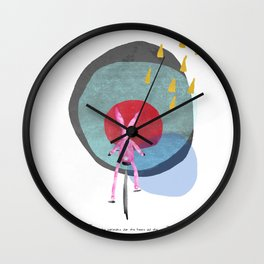 Bo- Bo: Set the controls for the heart of the sun Wall Clock