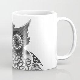 Ornament Eule - schwarz-weiß Coffee Mug