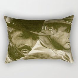 Butch Cassidy and the Sundance Kid Rectangular Pillow