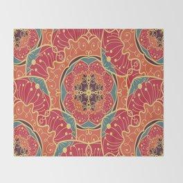 Psycodelic Mandala Throw Blanket