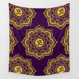 Lotus Vibrations Wall Tapestry