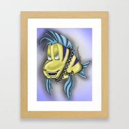 Flounder Framed Art Print