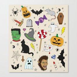 Halloween part 2 Leinwanddruck