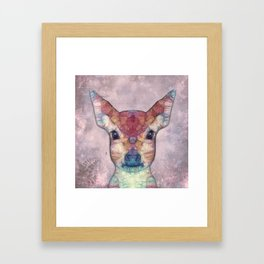 Abstract Fawn Framed Art Print