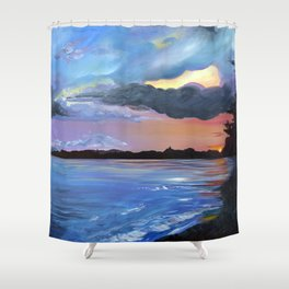 Leddy Shower Curtain