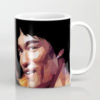 lee pace Mugs featuring lee by gazonula