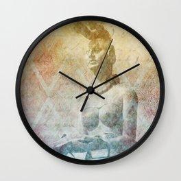 Ixchel, diosa maya  Wall Clock