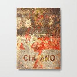 Cinzano - Vintage Vermouth  Metal Print