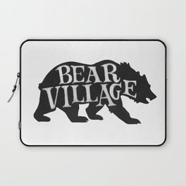 Bear Village - Grizzly Laptop Sleeve