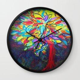 Laughing Tree Wall Clock