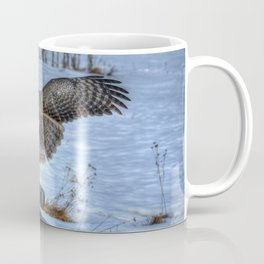 Great Grey Arriving Coffee Mug