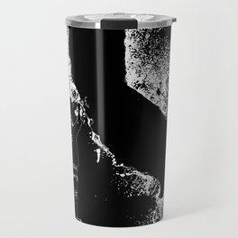 Cali wal tagger white Outline Travel Mug