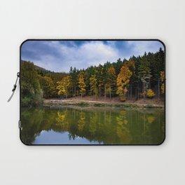 Autumn at the Lake Laptop Sleeve