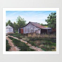 Brooks farm Art Print