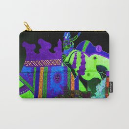 Colorful Elephant Art Carry-All Pouch