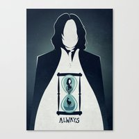 snape Canvas Prints featuring Snape Tribute.  by LADY2