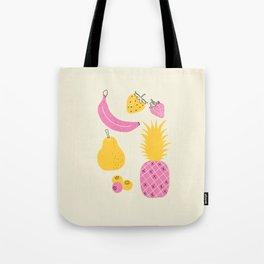 Retro Fruit Tote Bag