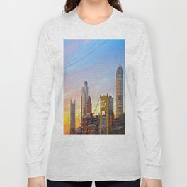 Sunset from the Southside Long Sleeve T-shirt