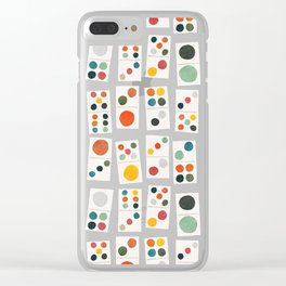 Domino Clear iPhone Case