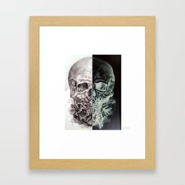 Positive/Negative Framed Art Print