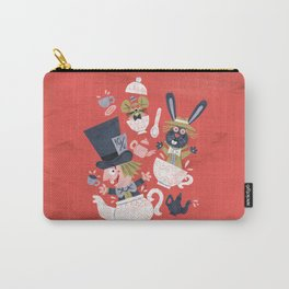 Mad Hatter's Tea Party - Alice in Wonderland Carry-All Pouch