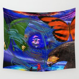 Eco Do they not know Wall Tapestry