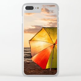 Summer Fun Clear iPhone Case