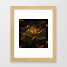 Veiled Heart Framed Art Print