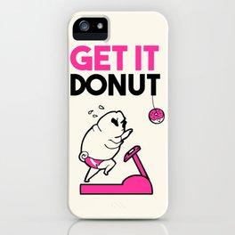 GET IT DONUT iPhone Case