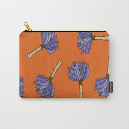 Vector Hand-Drawn Feather Duster Icon SEAMLESS Carry-All Pouch