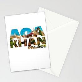 Aga Khan Palace Pune Maharashtra India Sultan Muhammed Shah Aga Khan Stationery Cards