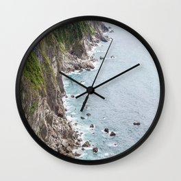 Qingshui Cliff II Wall Clock