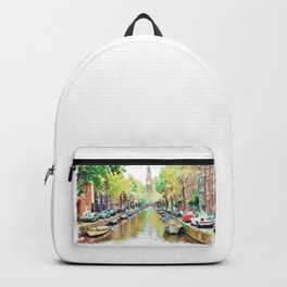 Amsterdam Canal 2 Backpack