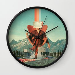 Enemy Wall Clock