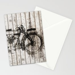 Graphite Moto Stationery Cards