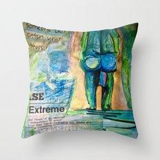 Familiar Protection Throw Pillow