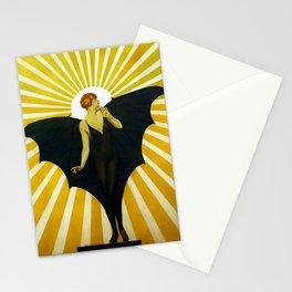 Coles Phillips Sunburst Magazine Cover Stationery Cards