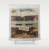ford Shower Curtains featuring Ford by Michael Shepherd