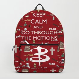 Go through the motions Backpack
