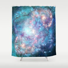 Abstract Galaxies 2 Shower Curtain