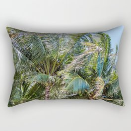 Palm Branches Rectangular Pillow