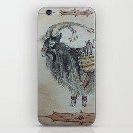 The Yule Goat iPhone Skin