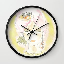 Zero-mile thoughts Wall Clock