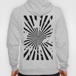 Sports figures in abstract background Hoody