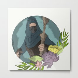 His Thievery - Kung Jin Metal Print