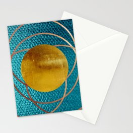 Moderne 4 Stationery Cards