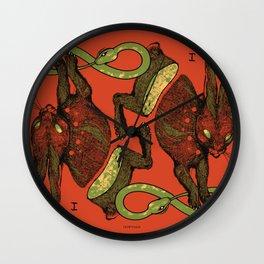 THE MAGICIAN (COLOR) Wall Clock