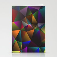 triangles Stationery Cards featuring TRIANGLES by eARTh
