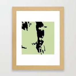 kid hiding Framed Art Print